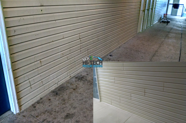 Breezeway Cleaning, Commercial Pressure Washing