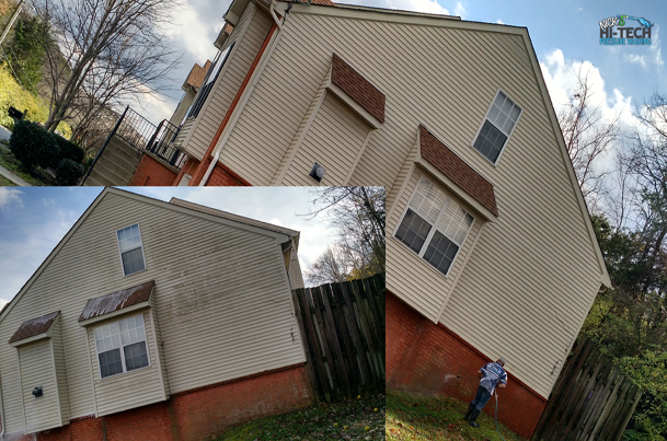 Commercial Townhome Pressure Washing