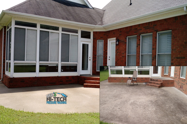 Concrete Pressure Washing, Concrete Cleaning Residential and Commercial