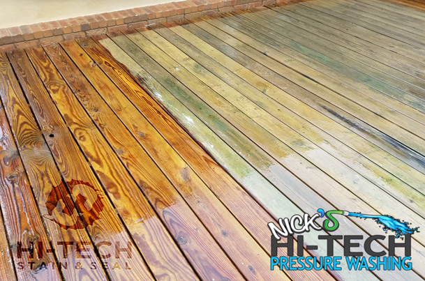 Deck Stripping and Deck Staining, Deck Sealing