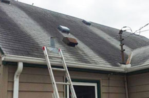 Roof Cleaning, Asphalt Roof Cleaning, Metal Roof Cleaning