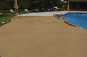 Concrete Acid Staining, Dyeing, Sealing, Acrylics